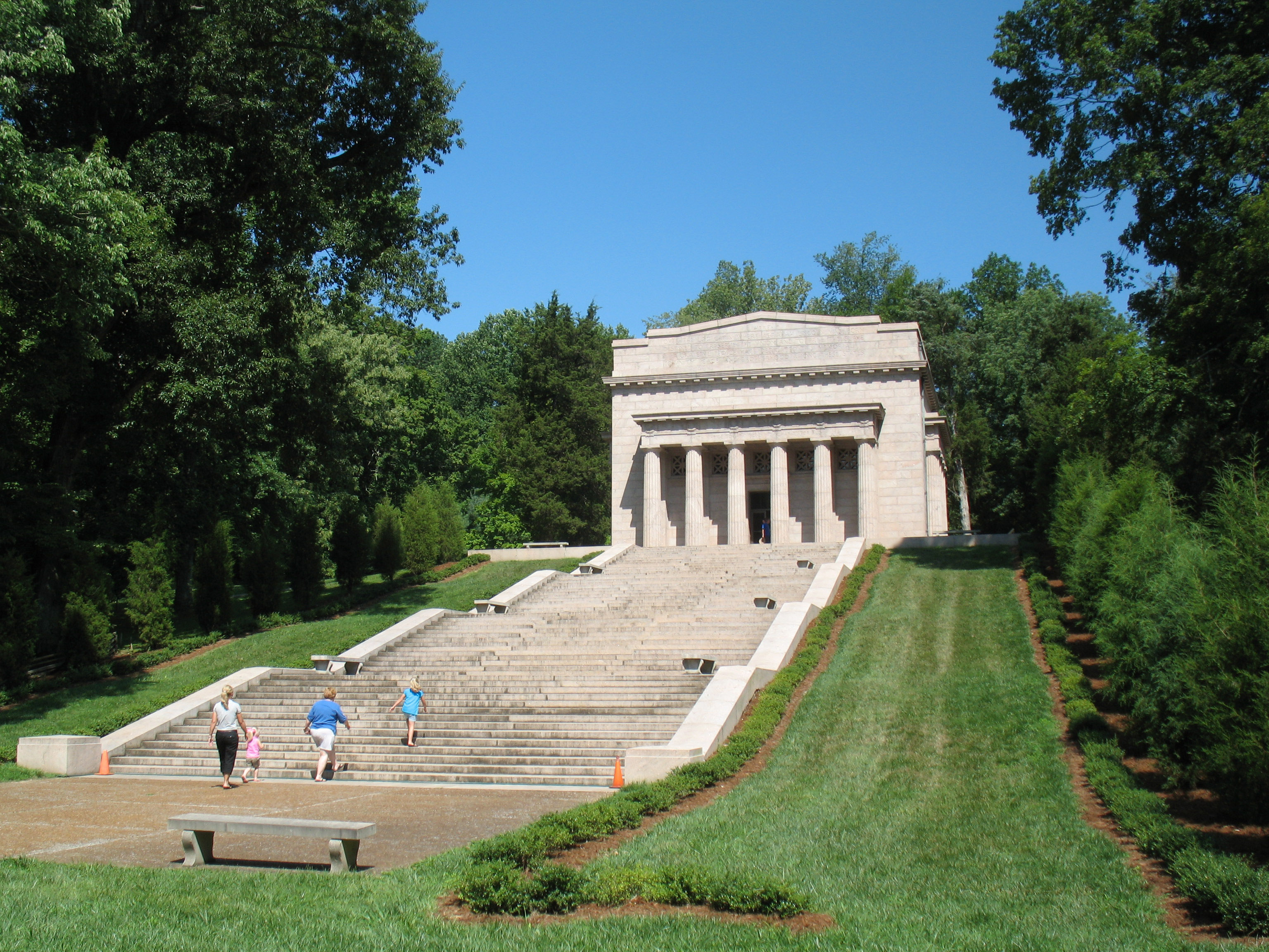 File Abraham Lincoln Birthplace Nhs Jpg Wikimedia Commons