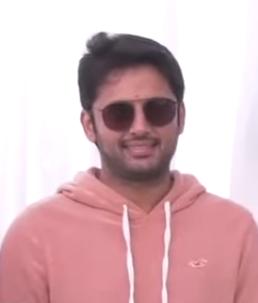 Nithiin Indian film actor