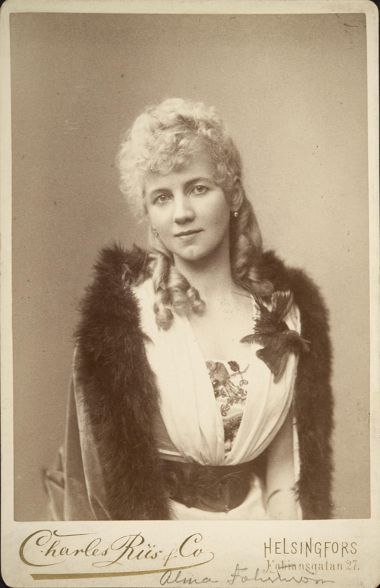 Alma Fohström Finnish operatic soprano