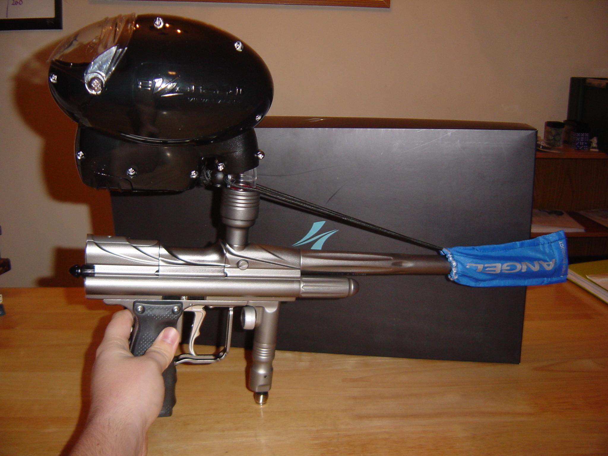 Electropneumatic paintball marker - Wikipedia