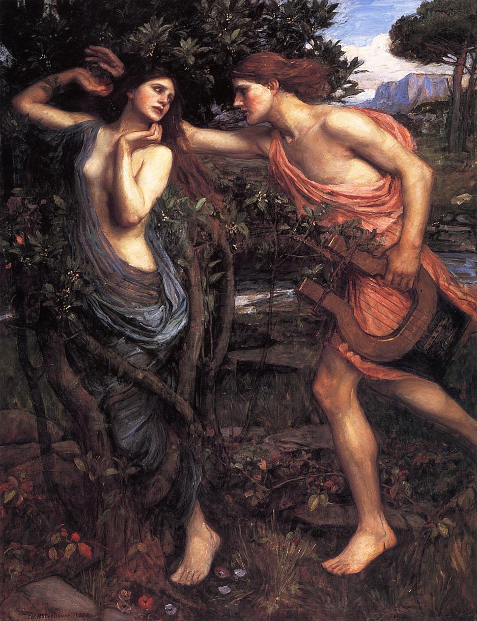 Resultado de imagen de mito de apolo y dafne