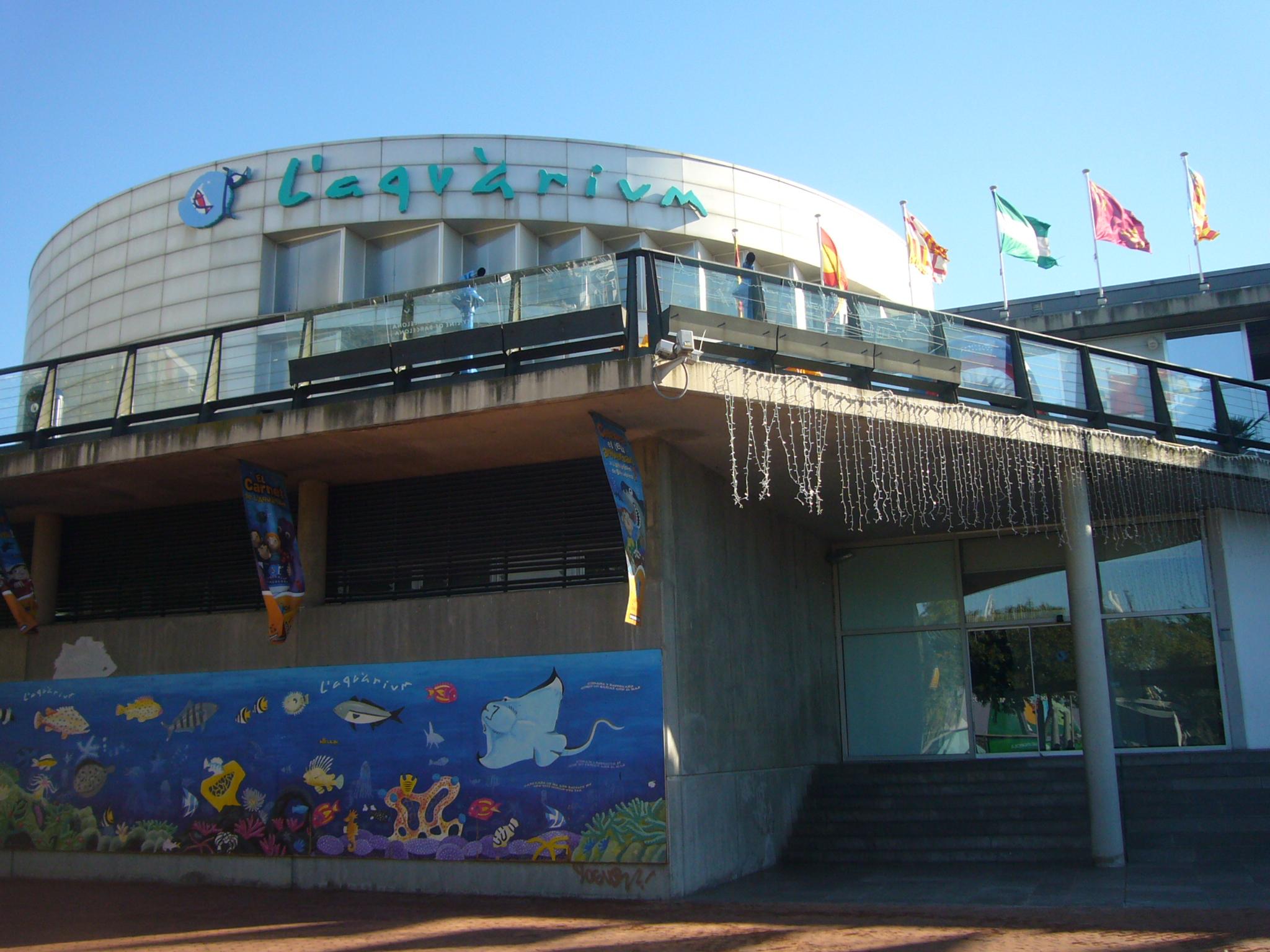 File aquarium barcelona building jpg wikimedia commons for Aquarium de barcelona