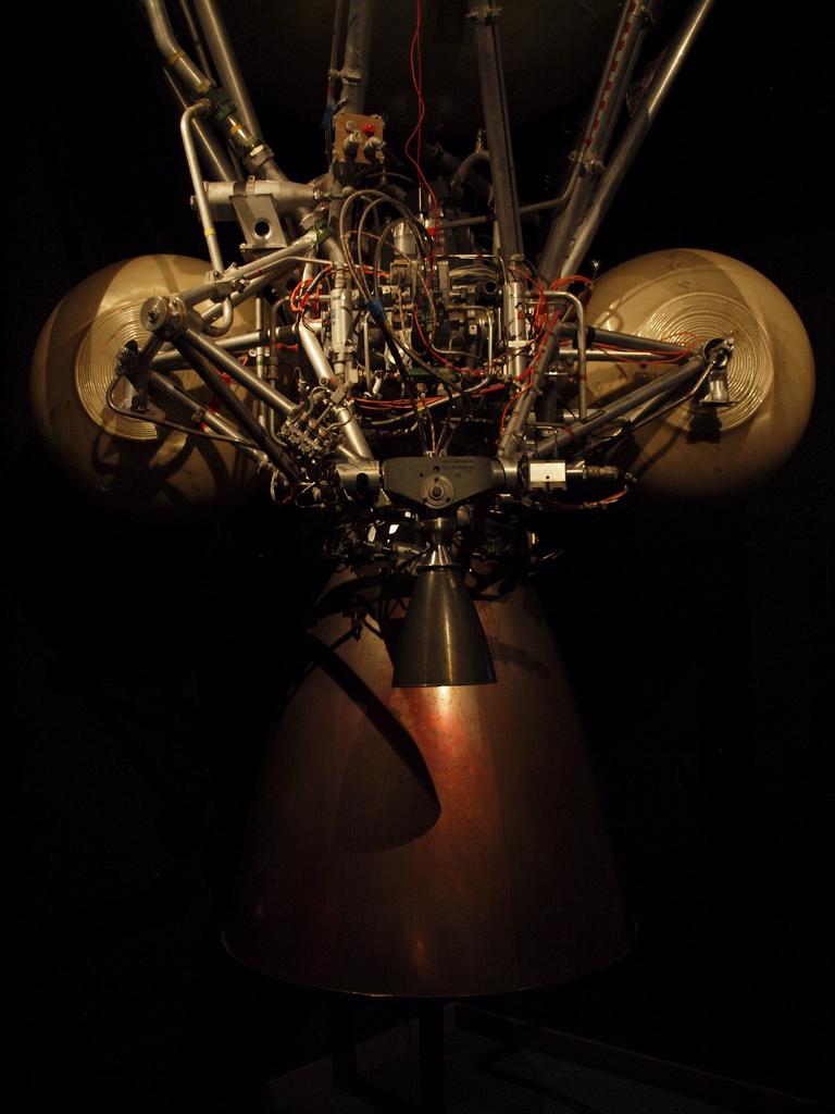 Astris Rocket on Pressure Chamber Rocket Engine