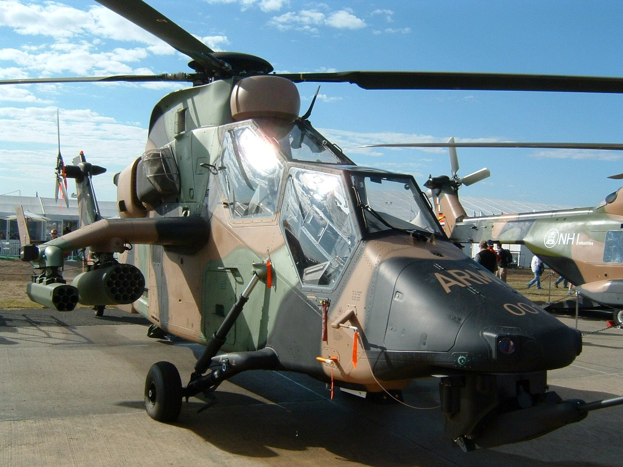 Image result for Airbus Helicopters Tiger Armed Reconnaissance Helicopter