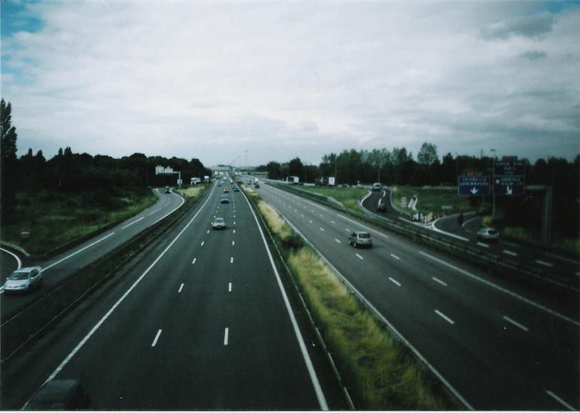 Autoroute near Metz - 2005