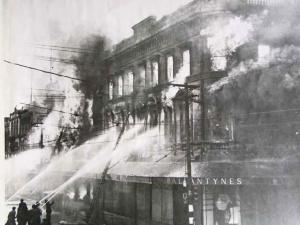 Ballantynes fire