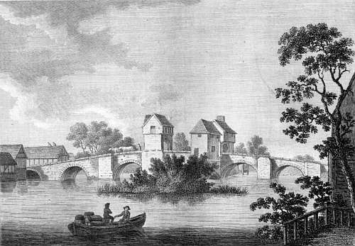 File:Bedford Bridge from Antiquities of England by (1783) by Francis Grose.jpg