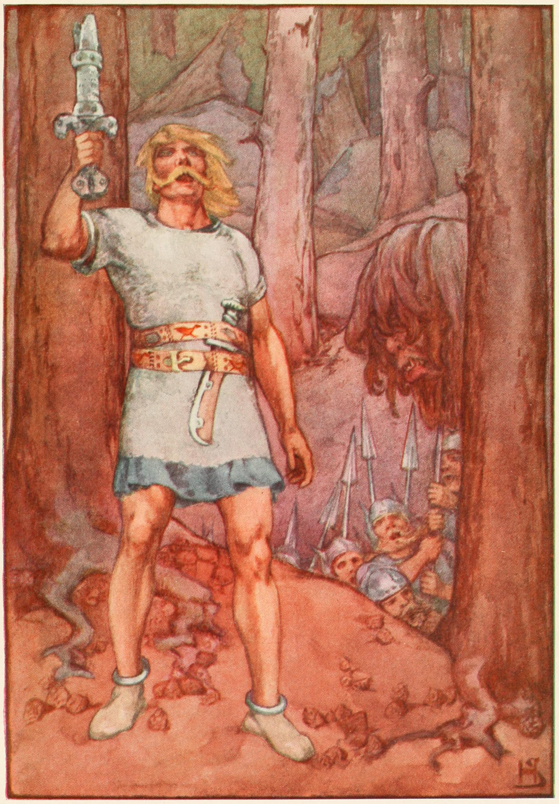 beowulf the hero In the epic poem beowulf, the protagonist beowulf is shown as a hero with extrodinary strength this is not what makes him a hero by definition, a hero is a man of exceptional quality.