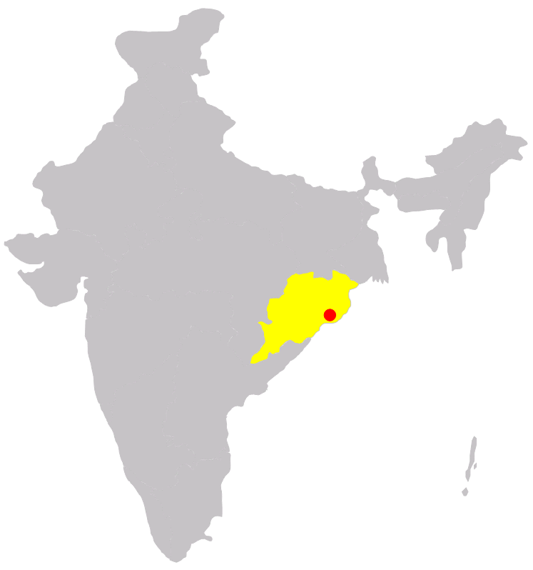 File:Bhubaneswar in India.png   Wikimedia Commons