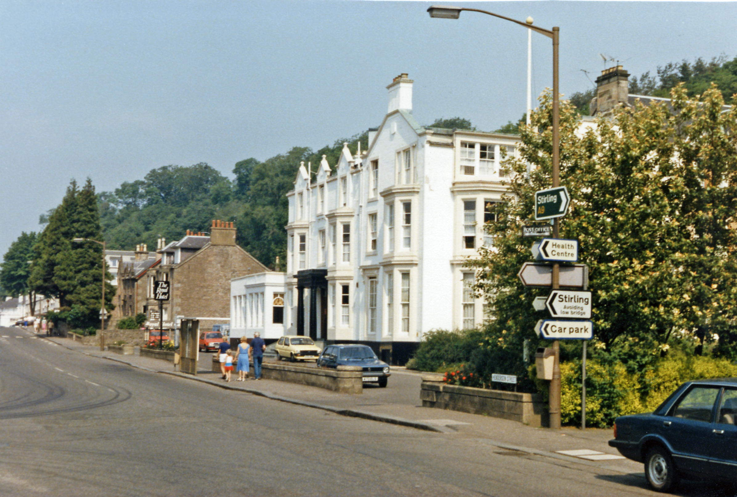 The Royal Hotel Bridge Of Allan