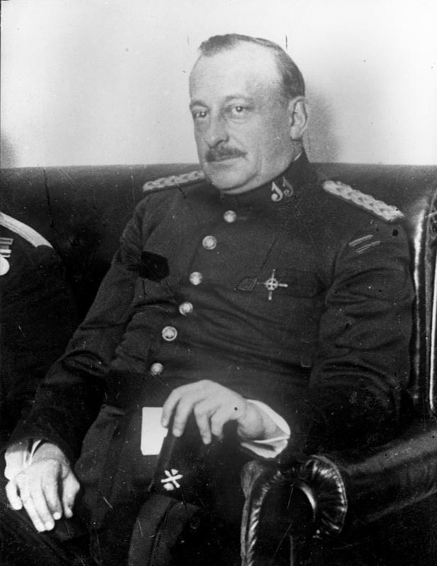 Depiction of Miguel Primo de Rivera