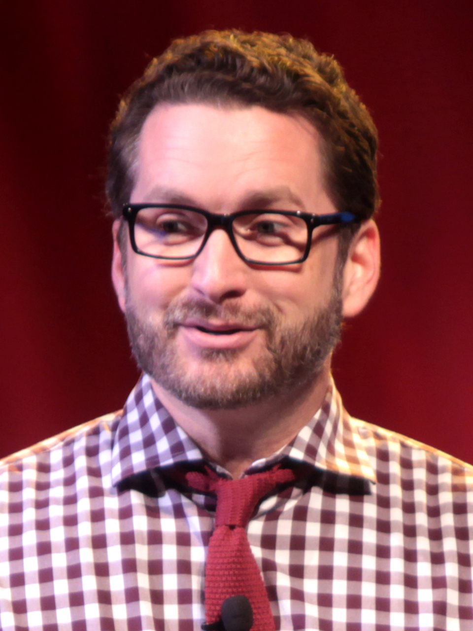 The 45-year old son of father (?) and mother(?) Burnie Burns in 2018 photo. Burnie Burns earned a  million dollar salary - leaving the net worth at 5 million in 2018