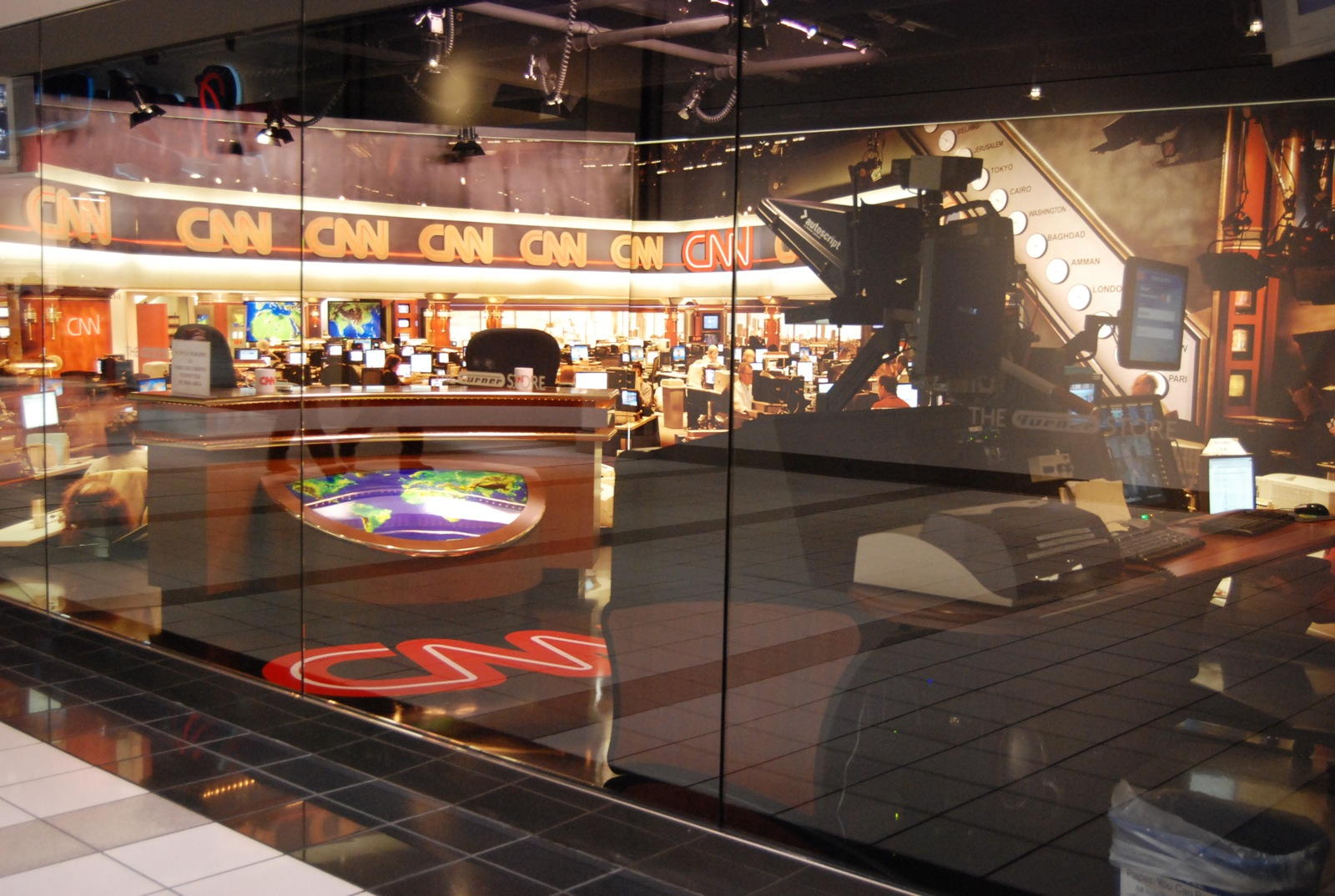 CNN Center studios
