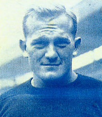 Cal Hubbard (pictured) was coached by McMillin at both Centenary and Geneva. Cal Hubbard Football.jpg