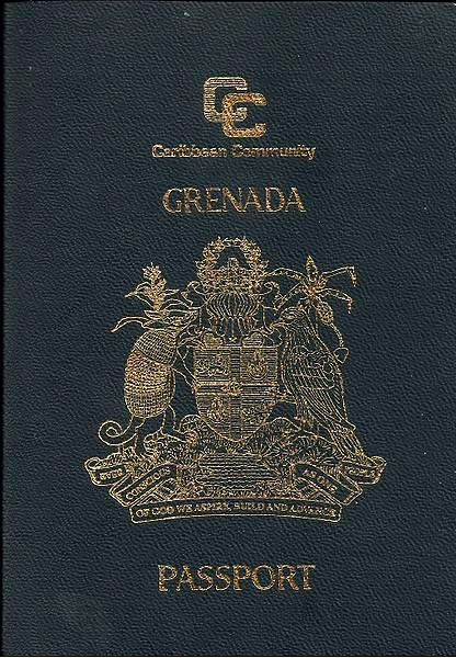 Grenadian Passport Wikipedia