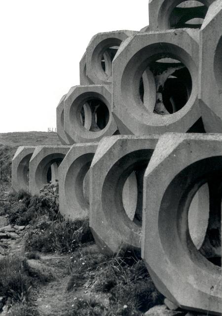 Cast concrete forms - geograph.org.uk - 108731.jpg