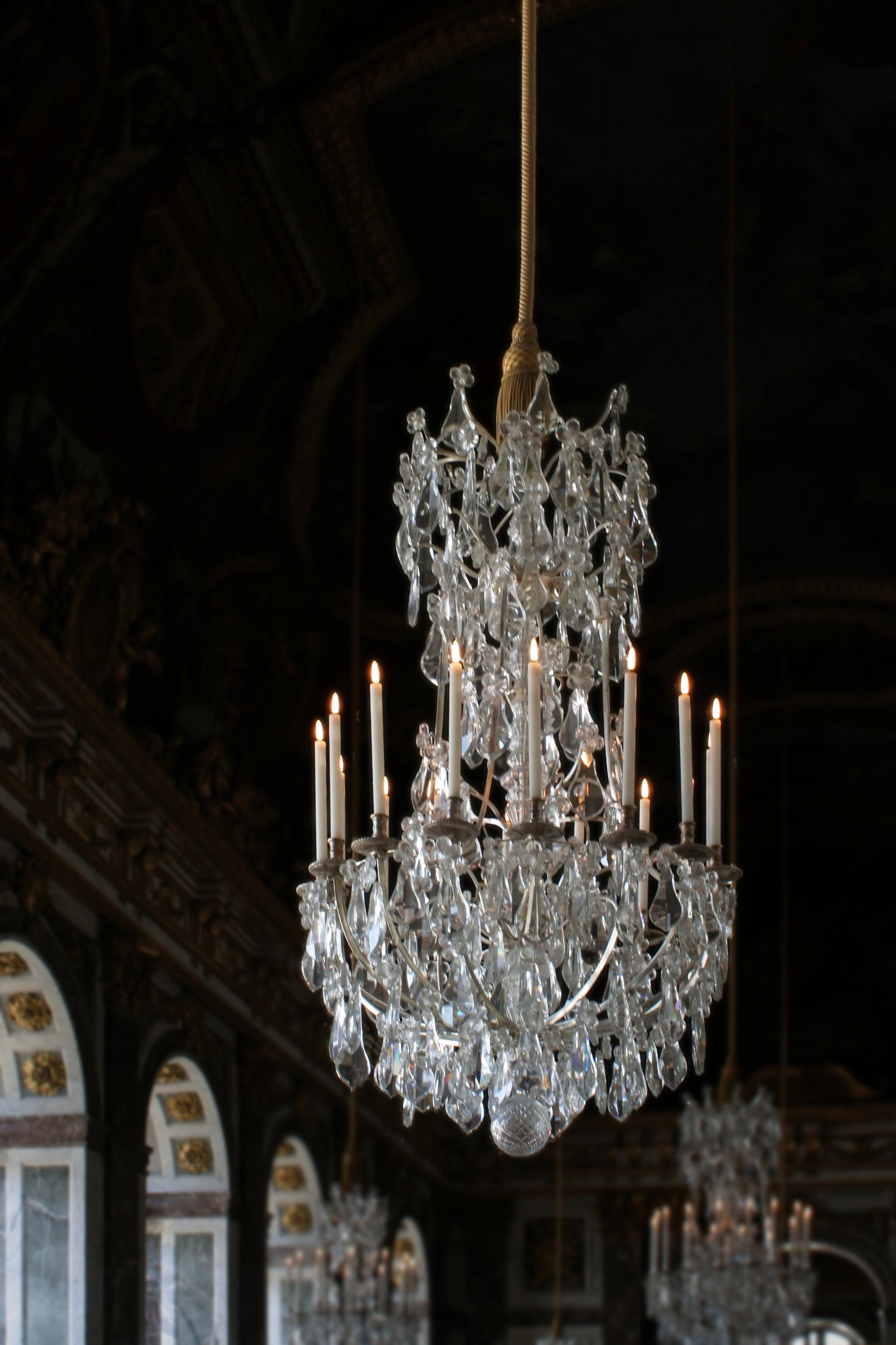 Lustre Pra Sala De Estar ~ Description Château de Versailles, galerie des glaces, lustrejpg