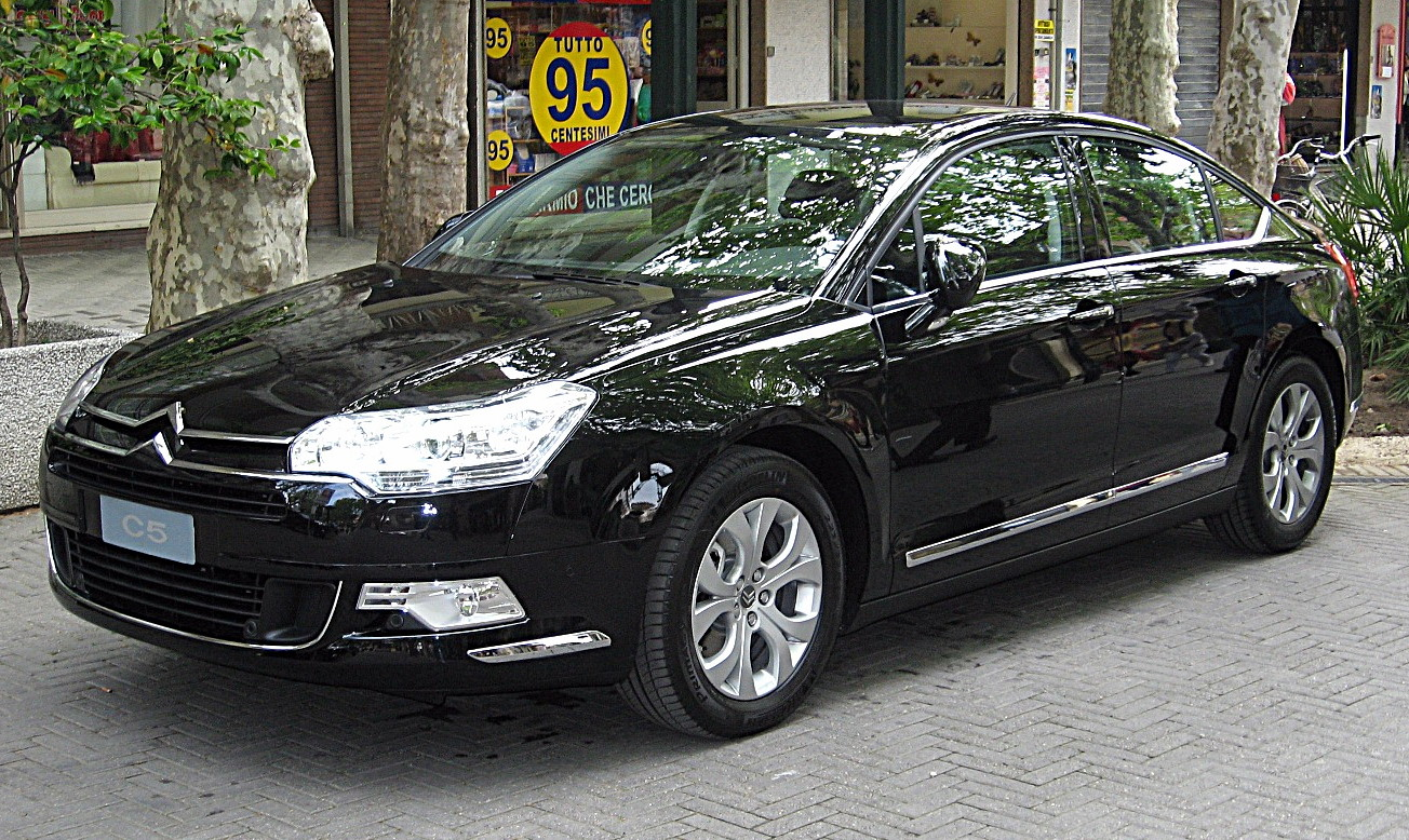 file citroen c5 sedan mk2 front view jpg wikimedia commons. Black Bedroom Furniture Sets. Home Design Ideas