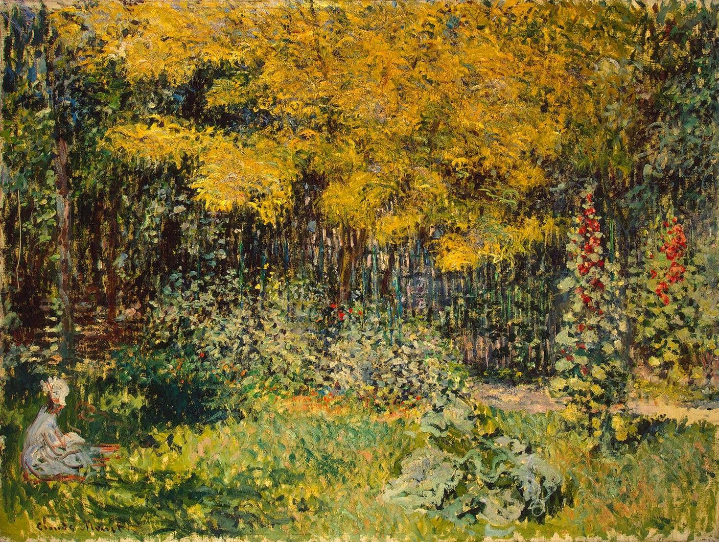 File:Claude Monet – Garden (1876).jpg - Wikimedia Commons