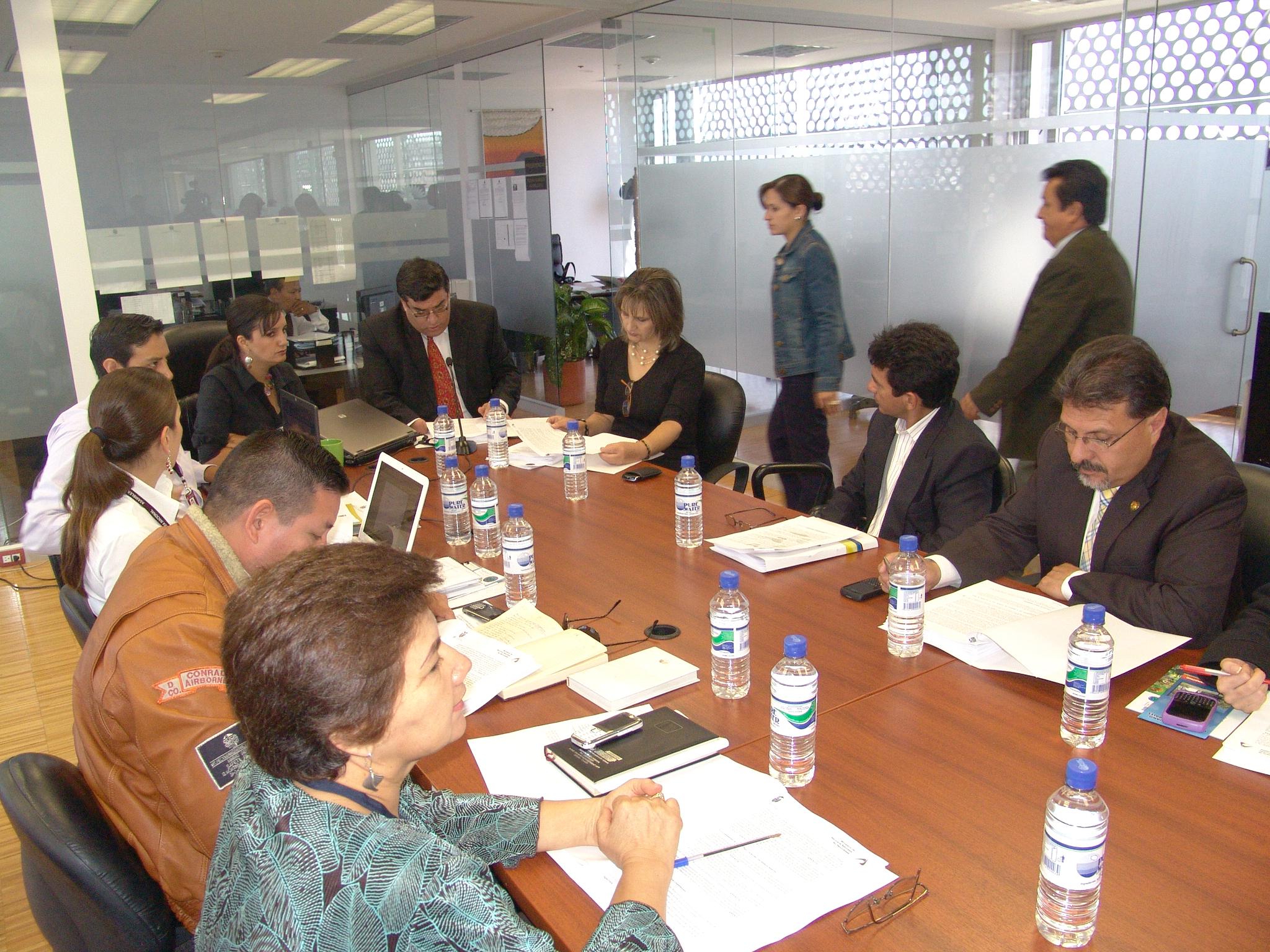 Comisión de Biodiversidad recibió al Ministro de Recursos Naturales No Renovables, Germánico Pinto (4272279752).jpg Español: Comisión de la Biodiversidad