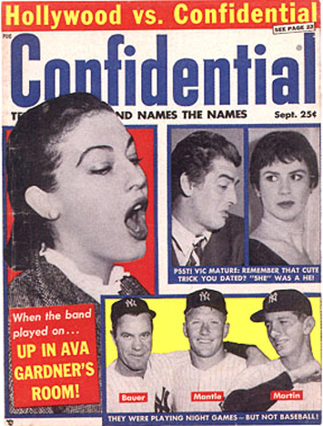 'Confidentially' Speaking — Some Classic Hollywood Scandal