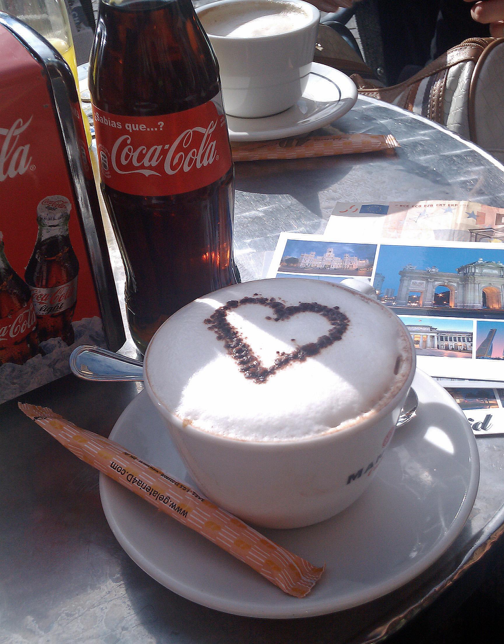 Café, sodas...