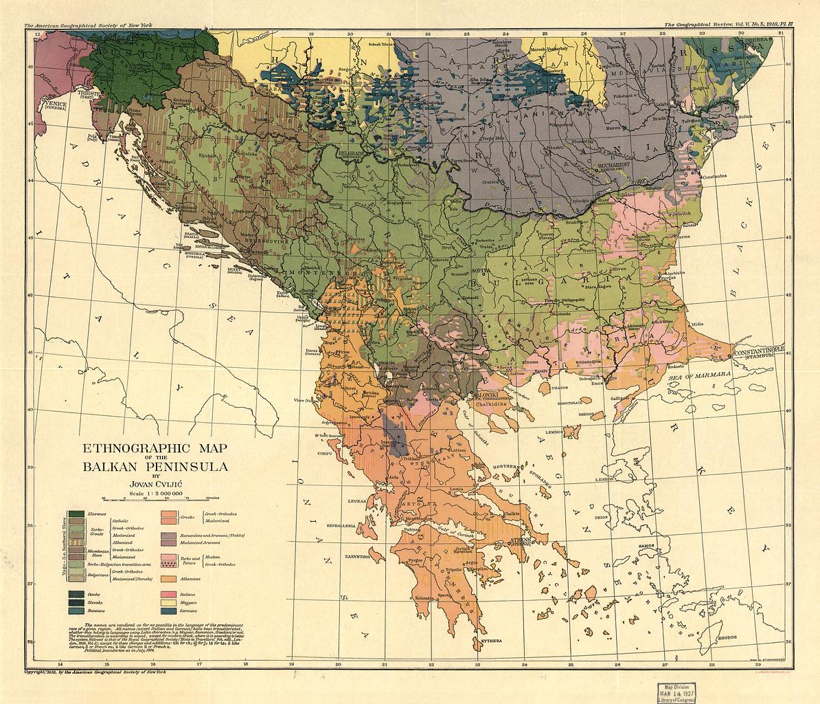 Jovan cviji wikipedia - La carte de l empire ottoman ...