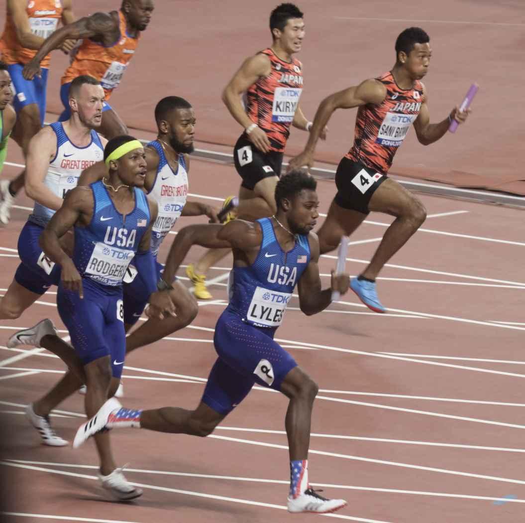 世界 陸上 100m 決勝