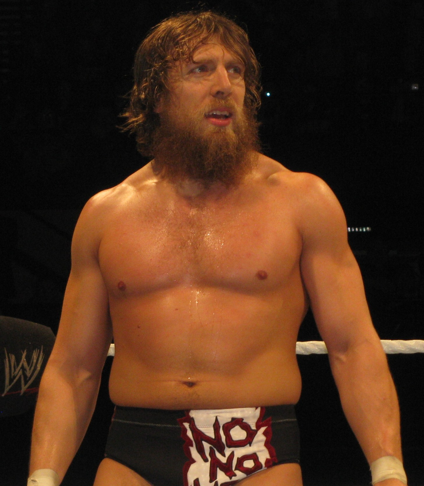 Daniel Bryan No Beard Bryan in July 2013
