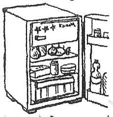Deutsch: Der Kühlschrank Español: La nevera