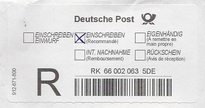 File:Einschreiben-Label Deutsche Post 2011.jpg