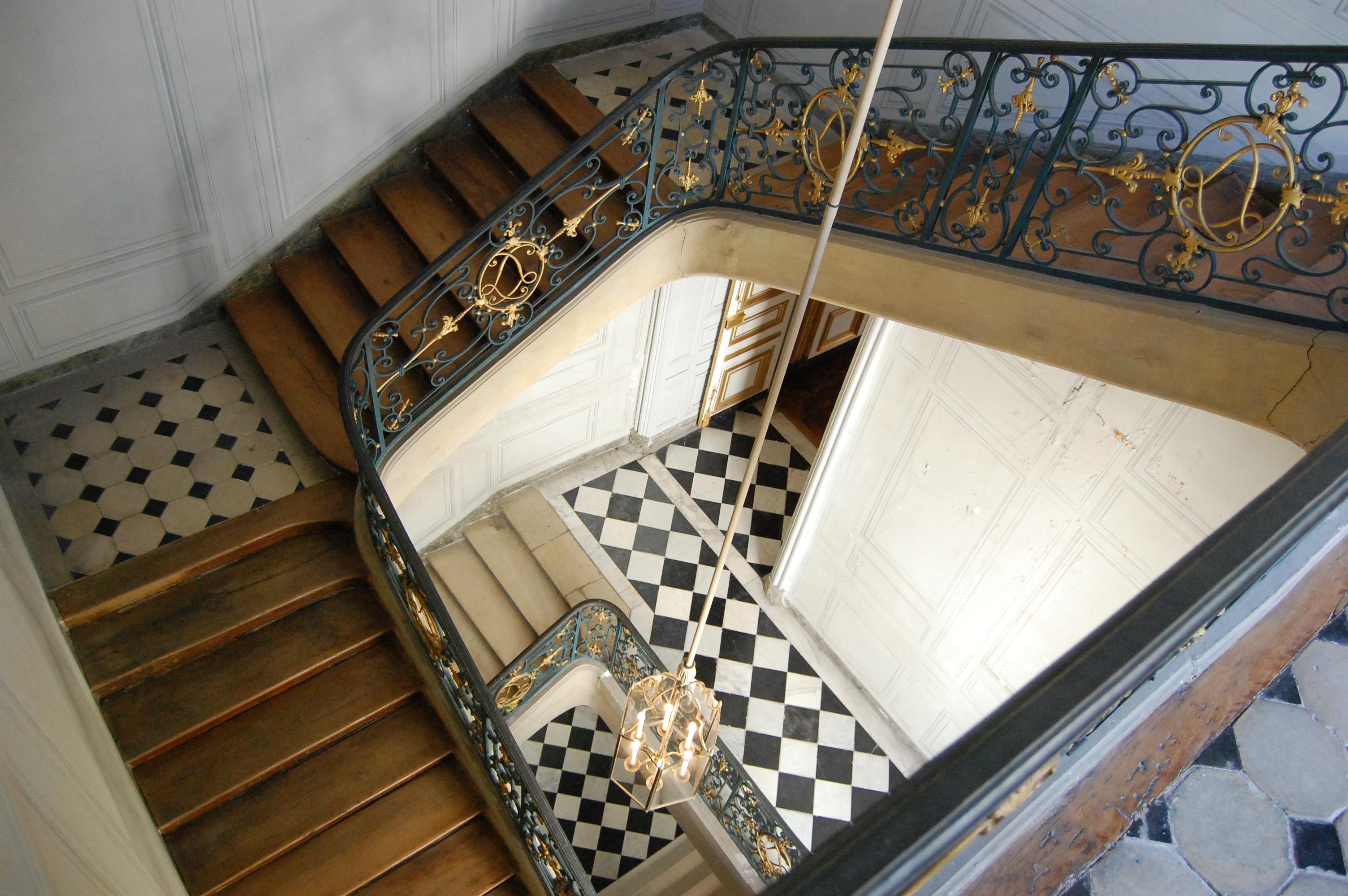 file escalier priv de louis xv dsc 0398 jpg wikimedia. Black Bedroom Furniture Sets. Home Design Ideas