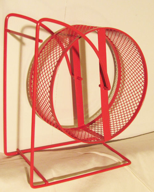 English: Exercise wheel for a small rodent, di...