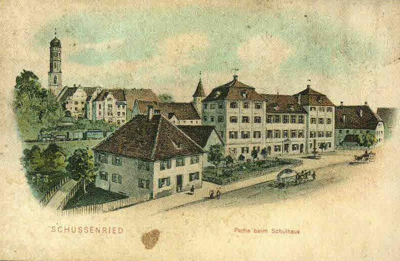 Felle Schussenried Schulhaus
