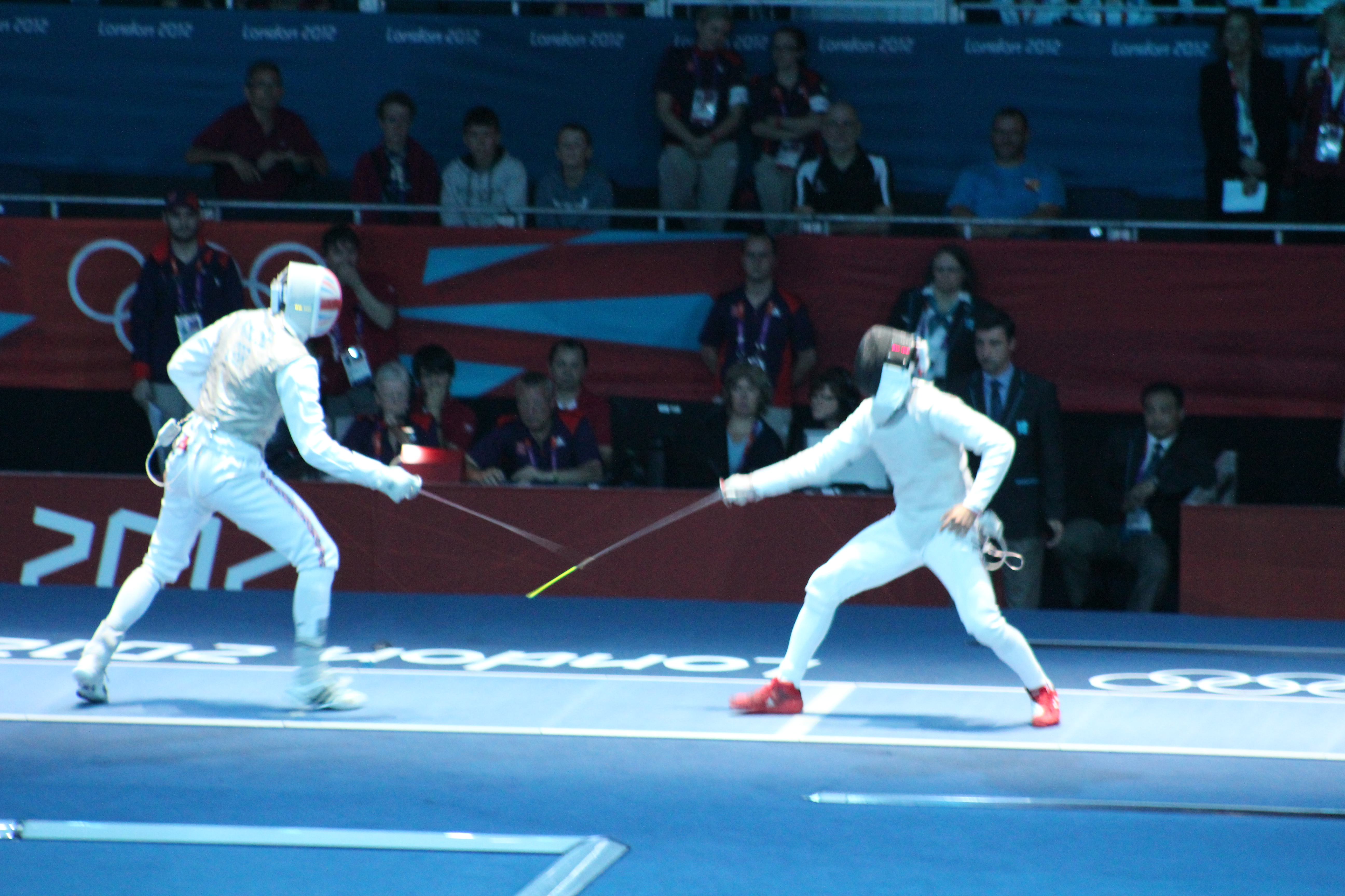 opinions on fencing at the 2012 summer olympics