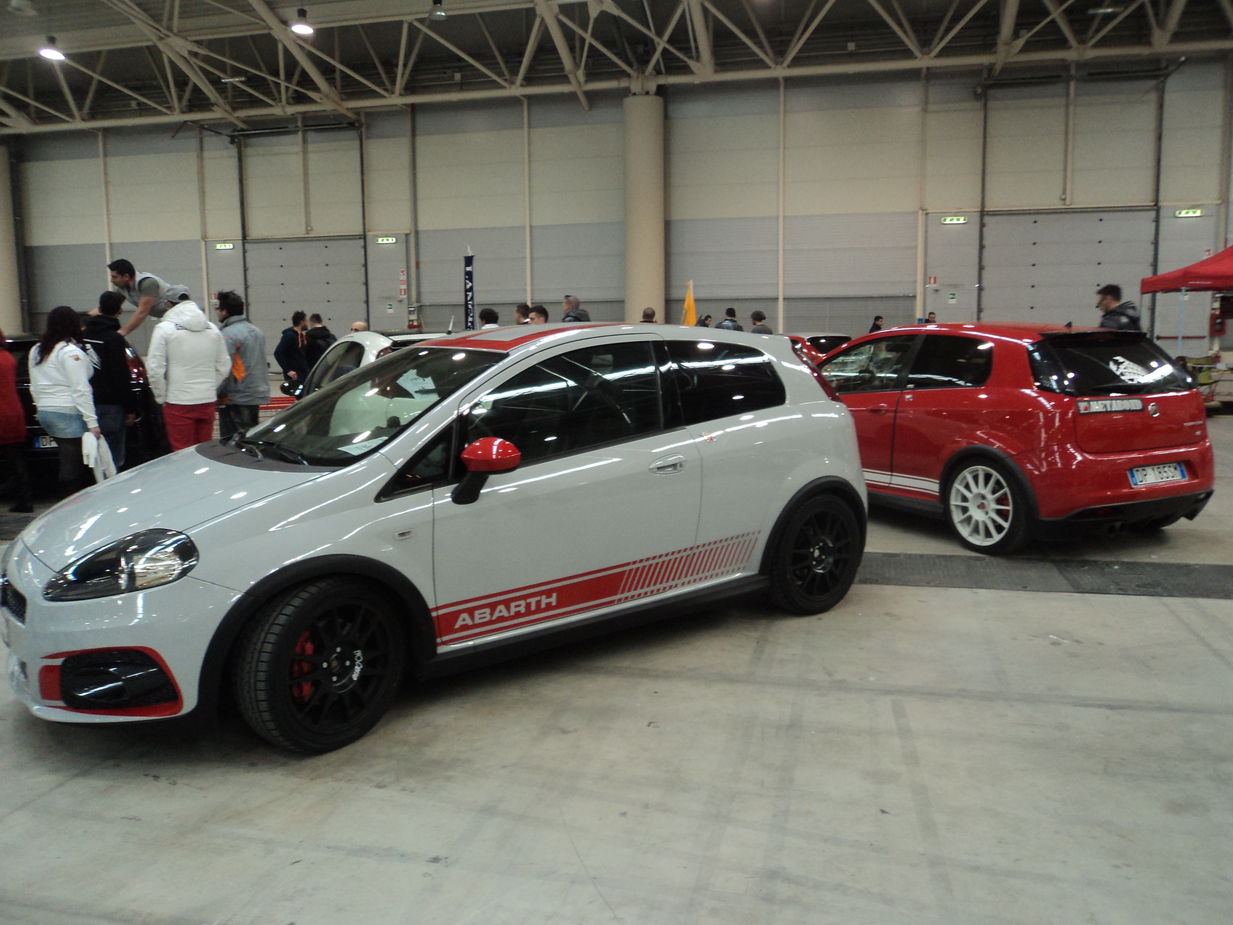 file fiat punto abarth rome tuning show 09 jpg. Black Bedroom Furniture Sets. Home Design Ideas