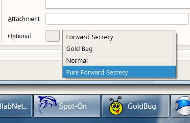 First E-Mail Client with Forward Secrecy. Choose one of the options.