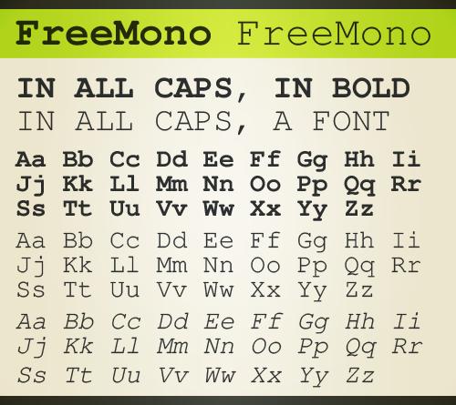 GNU FreeFont - Wikipedia