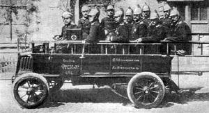Пожарный автомобиль «Фрезе», 1904 год