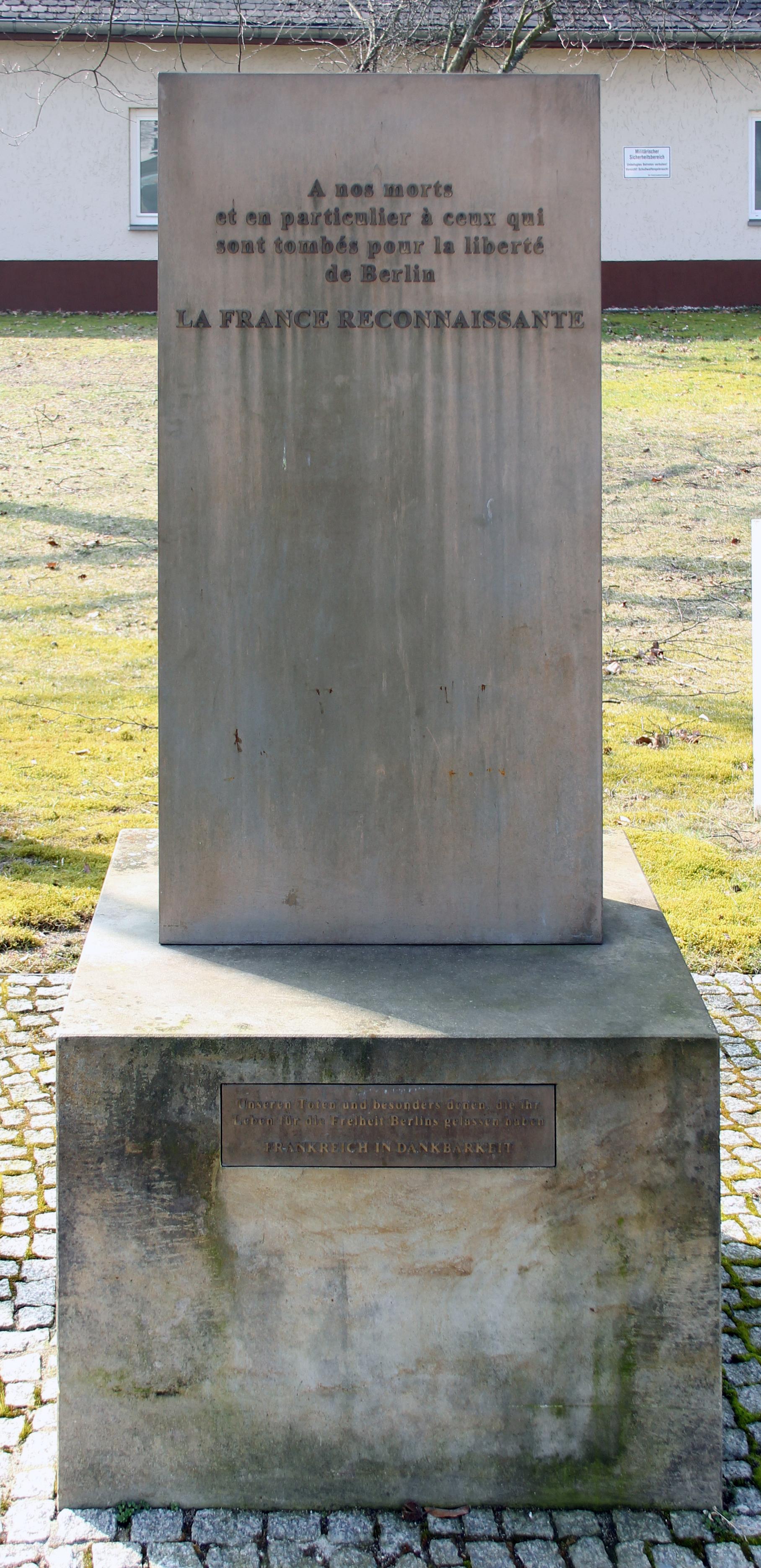 File Gedenkstein Kurt Schumacher Damm 41 Weddi Gefallenendenkmal