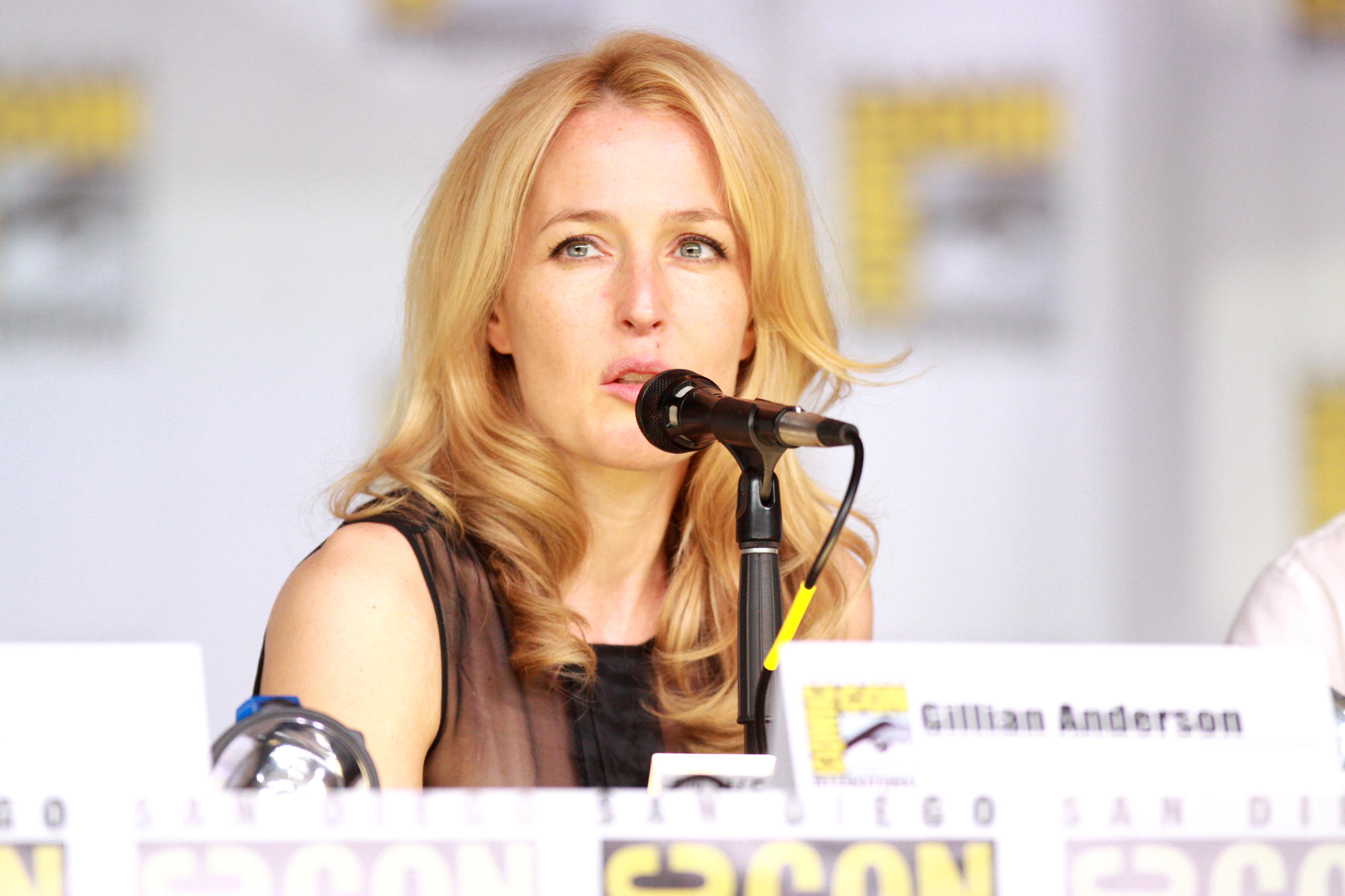 Gillian Anderson Comic-Con