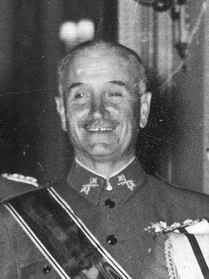El general Gonzalo Queipo de Llano
