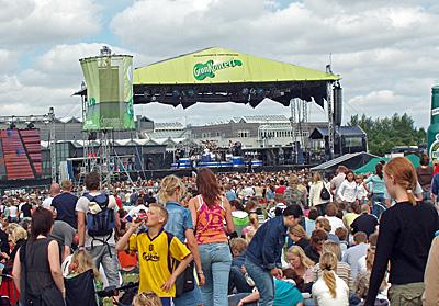 Grøn (musikarrangement) - Wikipedia, den frie encyklopædi