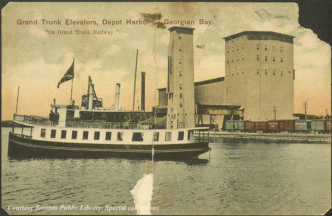 File:Grand Trunk Elevators, Depot Harbour, Georgian Bay, Ontario, Canada (1910) (5444702599).jpg