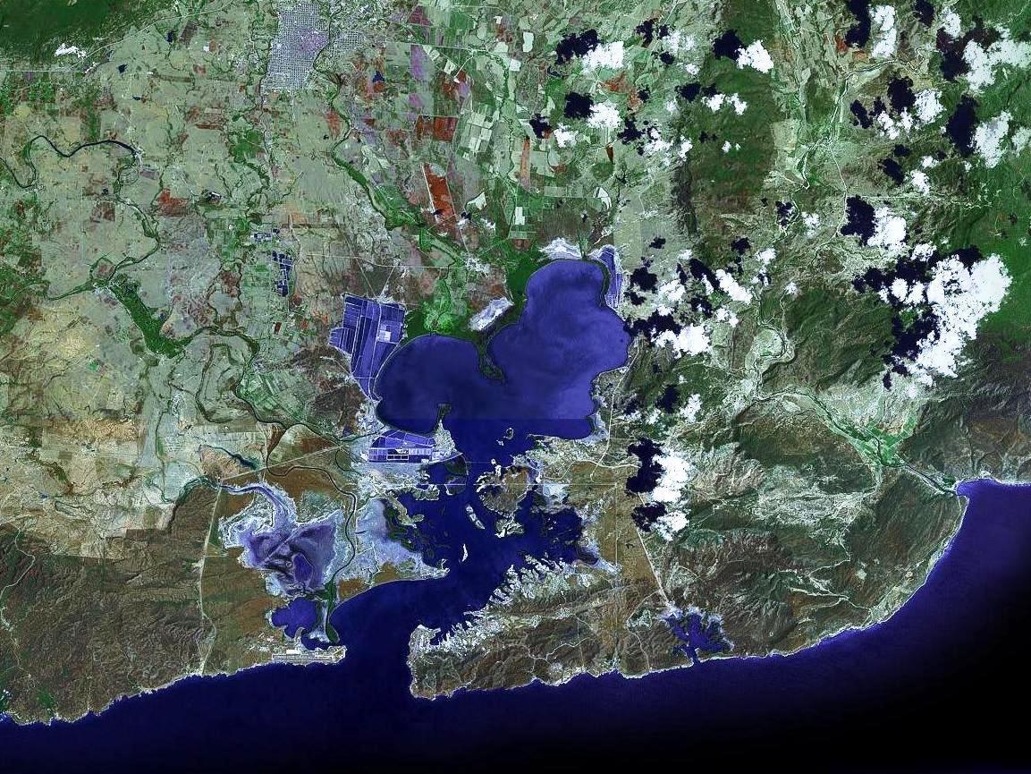 Guantánamo Bay Wikipedia - Satellite map us