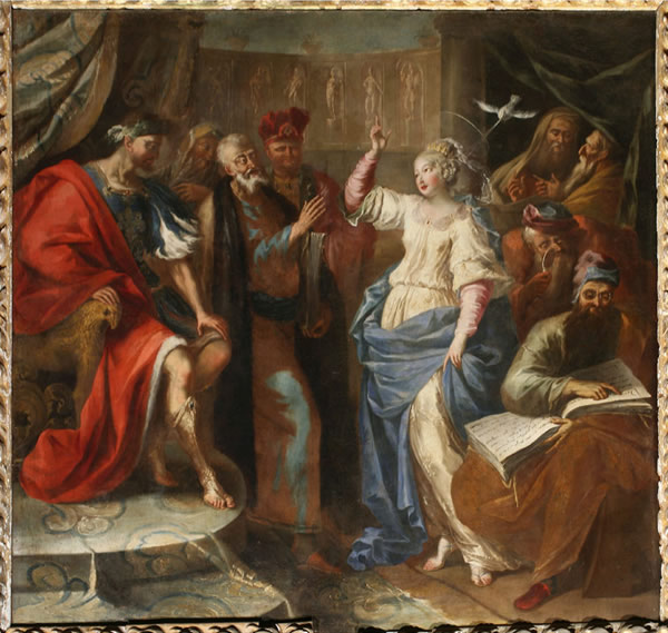 File:Guglielmo Borremans - Dispute of St Catherine of Alexandria with the philosophers before Maxentius.jpg