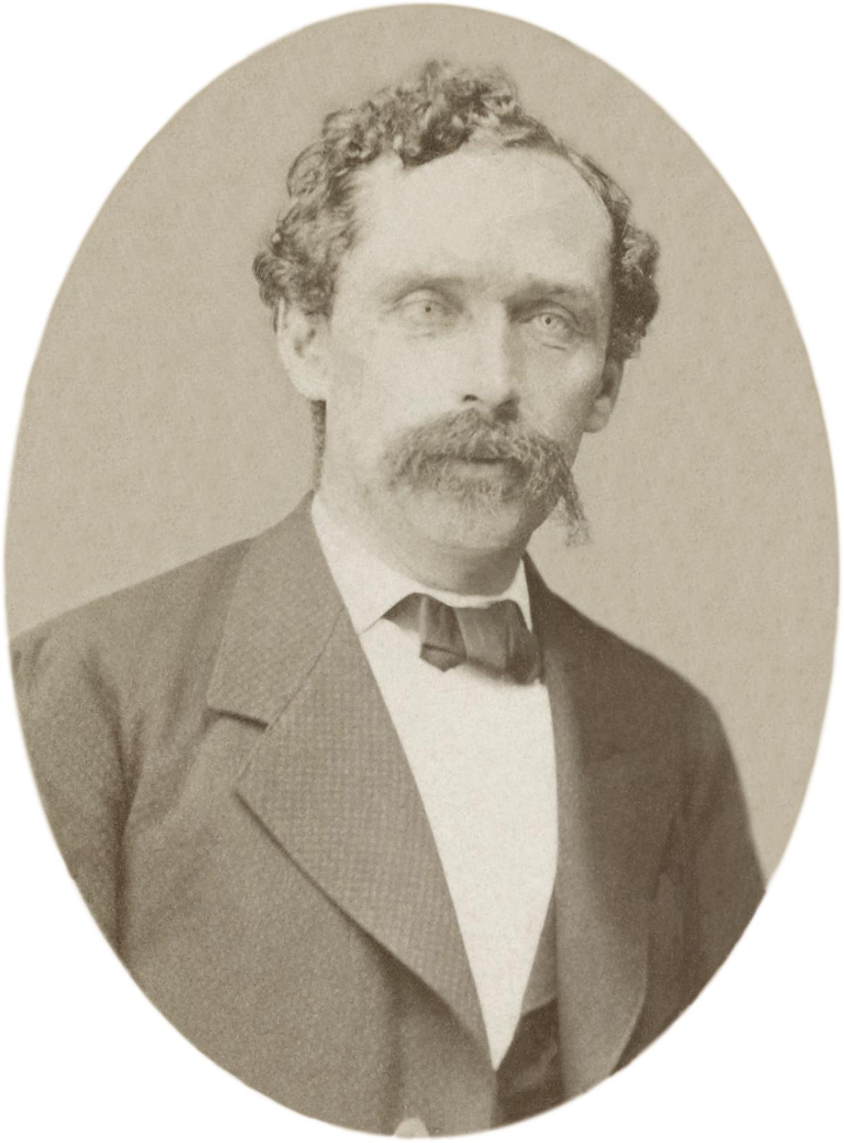 Depiction of Gustav Nachtigal