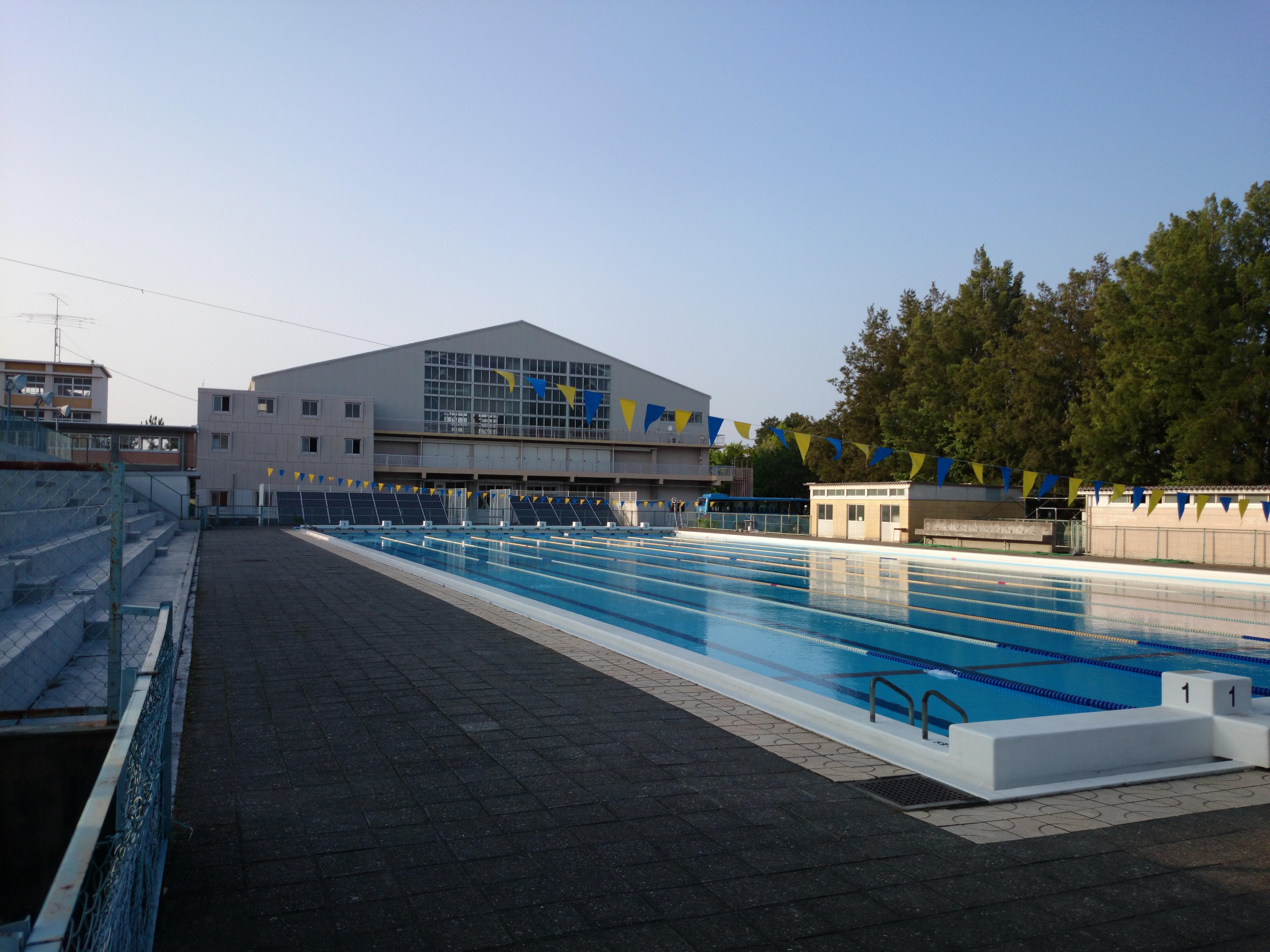 File Hamamatsu Technical High School Swimming Pool 1st Gymnasium Hamamatsu Shizuoka Japan