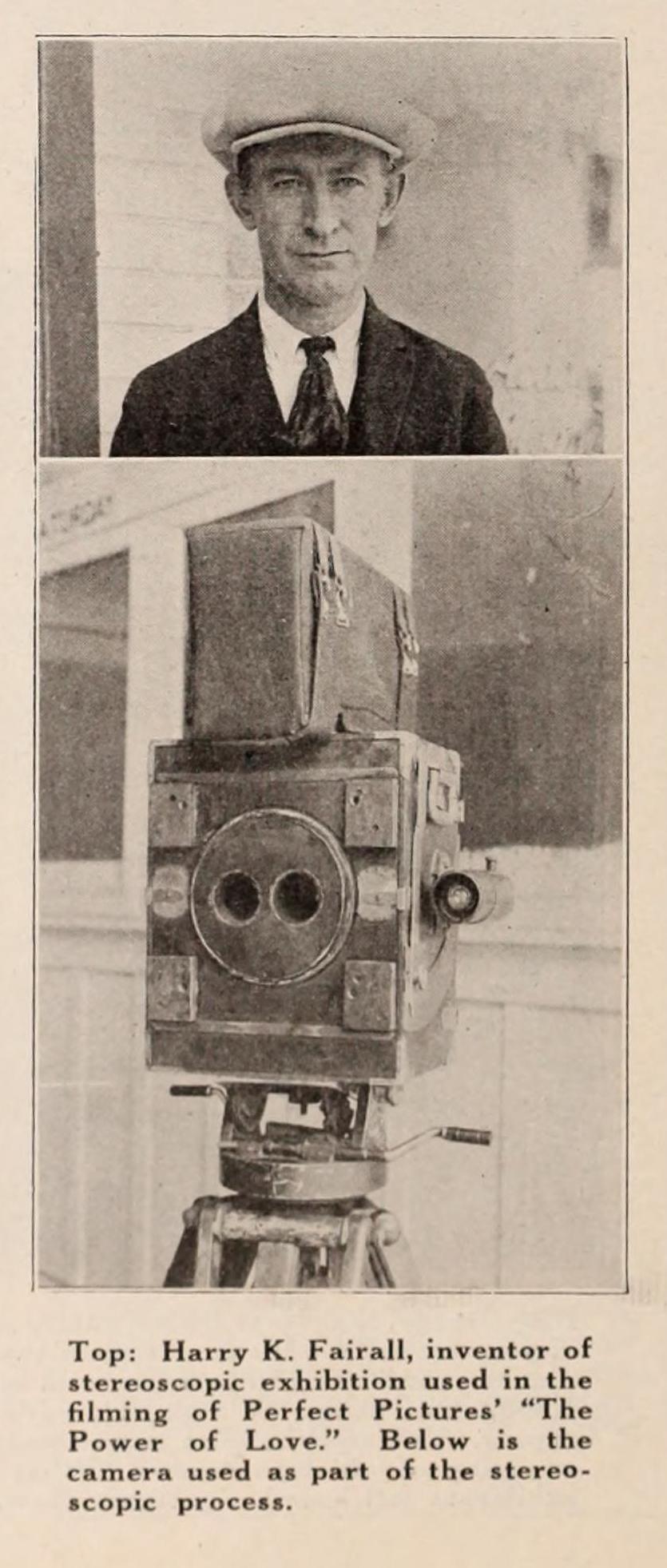 File:Harry Fairall and stereoscopic camera jpg - Wikimedia