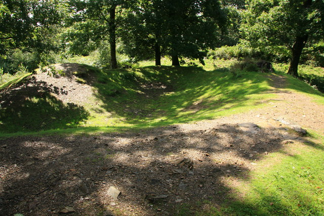 Hembury Woods Fort - geograph.org.uk - 1462069